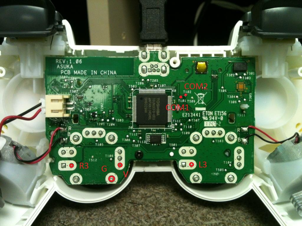ps3 connections diagram with Xbox 360 Wireless Controller Wiring Diagram on Watch moreover 60397 Cost Of Building A Ps4 additionally Xbox Controller Board Diagram likewise 202556 How To Connect Creative Inspire T6060 To TV moreover Xbox One Bind On Diagram.